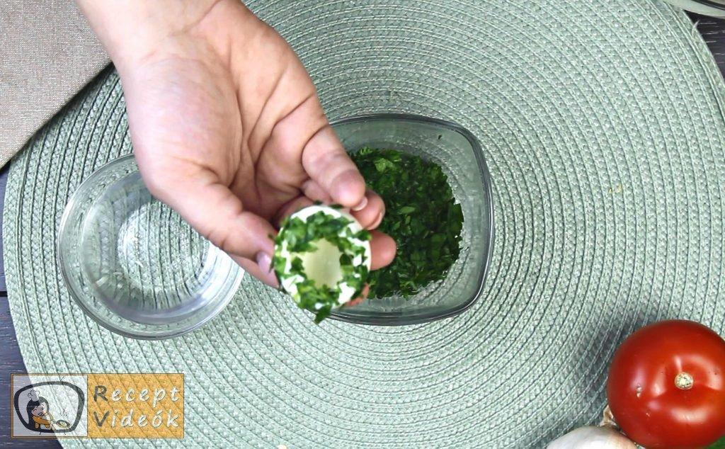 Húsvéti diy kreatív recept ötletek, asztaldíszek - húsvéti tojáskosárka 3. lépés