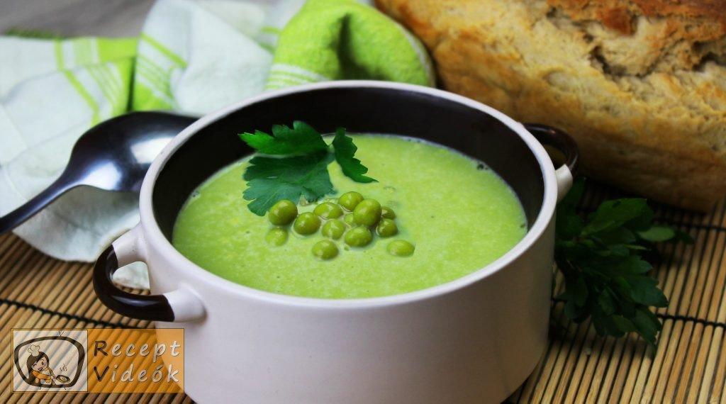 Zöldborsó krémleves recept, zöldborsó krémleves elkészítése - Recept Videók