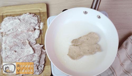 Bakonyi sertésszelet recept, bakonyi sertésszelet elkészítése 2. lépés