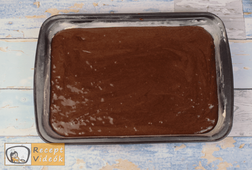 Boci szelet recept, boci szelet elkészítése 5. lépés