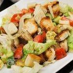 Cézár saláta recept, cézár saláta elkészítése - Recept Videók