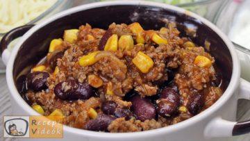 Mexikói chilis bab recept, mexikói chilis bab elkészítése - Recept Videók