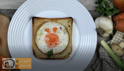 Húsvéti diy kreatív recept ötletek, asztaldíszek - húsvéti kreatív reggeli 6. lépés