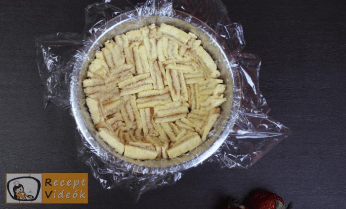 Epres-krémsajtos torta recept, epres-krémsajtos torta elkészítése 10. lépés