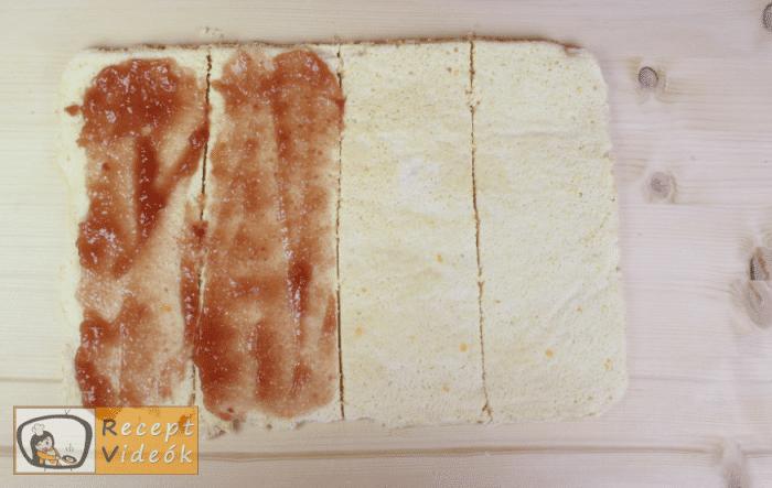 Epres-krémsajtos torta recept, epres-krémsajtos torta elkészítése 7. lépés