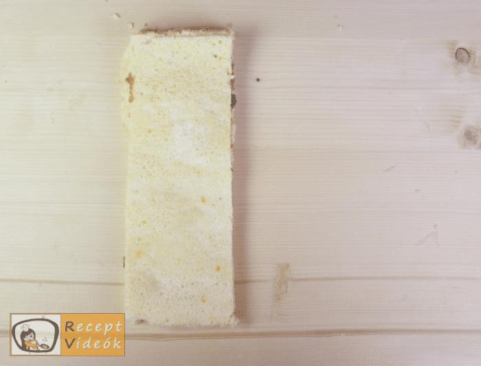 Epres-krémsajtos torta recept, epres-krémsajtos torta elkészítése 8. lépés