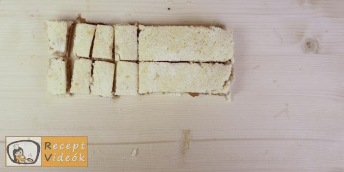 Epres-krémsajtos torta recept, epres-krémsajtos torta elkészítése 9. lépés
