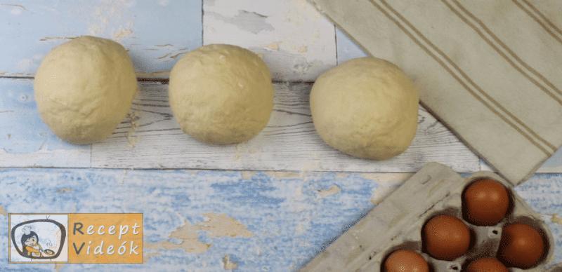 Fonott kalács recept, fonott kalács elkészítése negyedik lépés