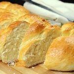 Fonott kalács recept, fonott kalács elkészítése - Recept Videók