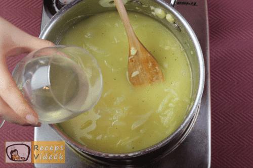 Francia hagymaleves recept, francia hagymaleves elkészítése 6. lépés