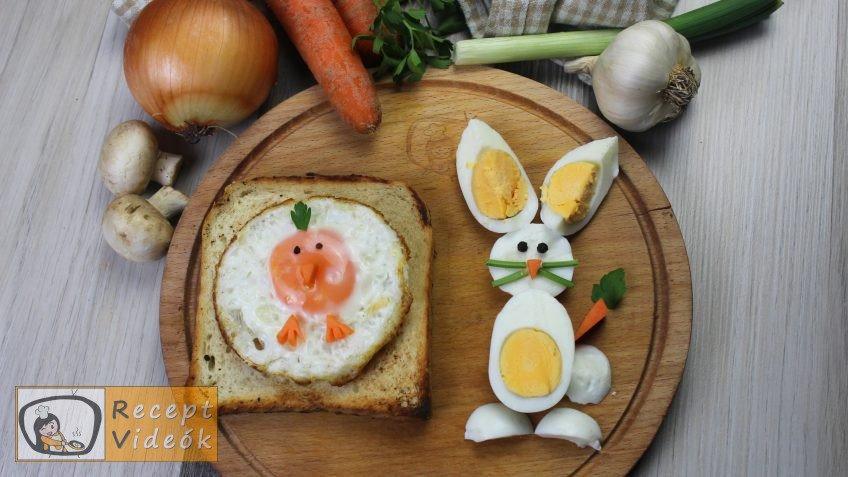Húsvéti diy kreatív recept ötletek, asztaldíszek - húsvéti kreatív reggeli - Recept Videók