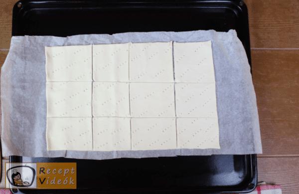 Krémes recept, krémes elkészítése 2. lépés