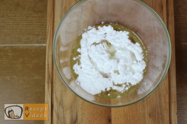 Krémes recept, krémes elkészítése 3. lépés