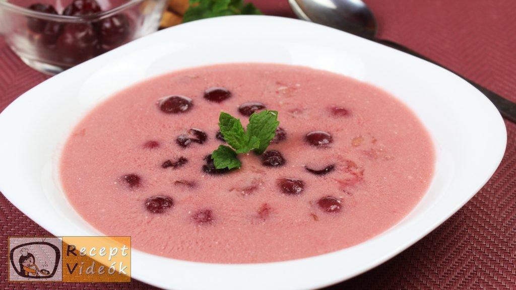 Meggyszósz (meggymártás) recept, meggyszósz (meggymártás) elkészítése - Recept Videók