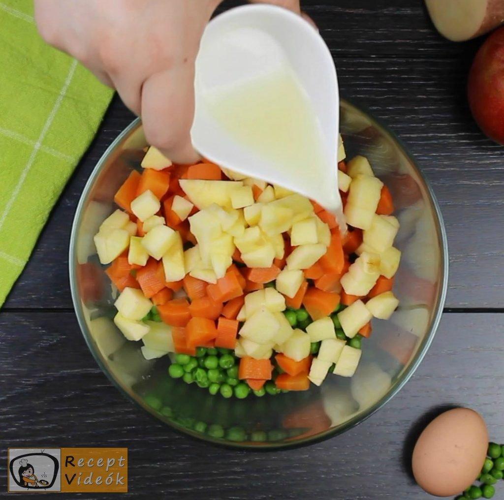 Dermesztett majonézes saláta recept elkészítése 1. lépés