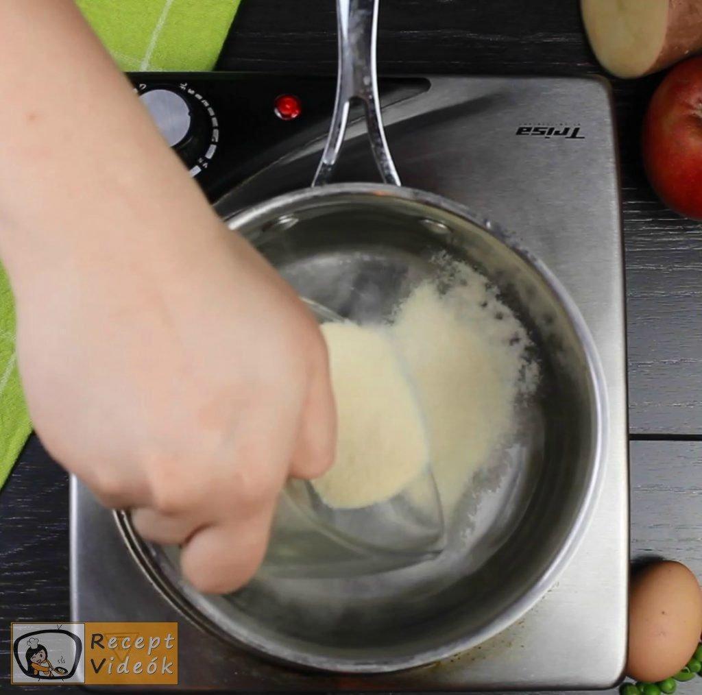 Dermesztett majonézes saláta recept elkészítése 4. lépés