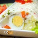 Dermesztett majonézes saláta recept elkészítése - Recept Videók