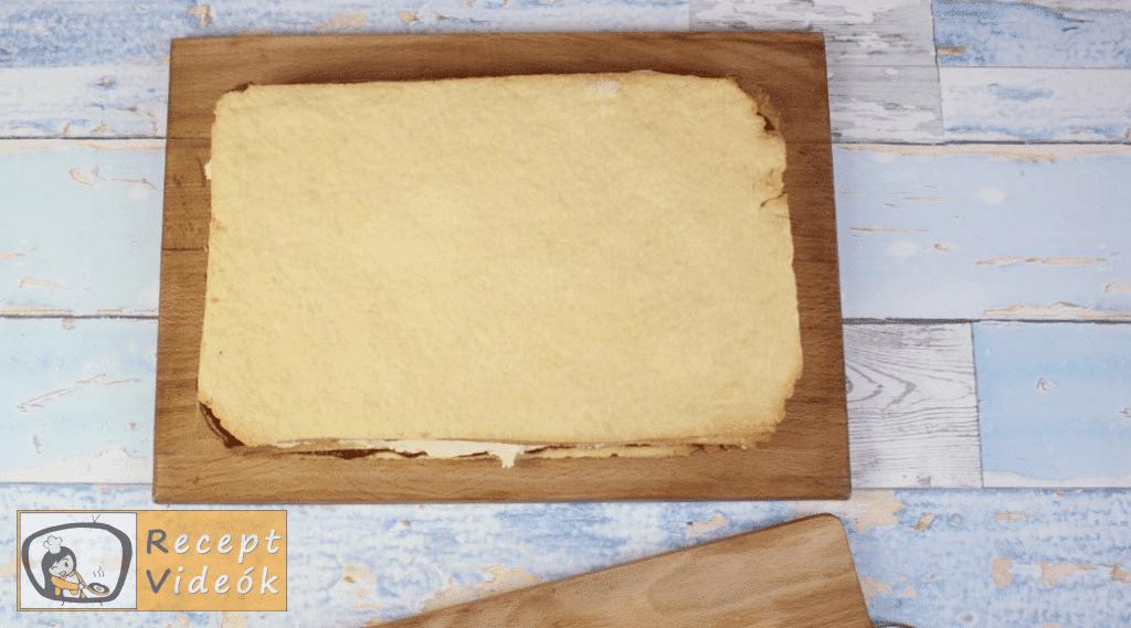 Mimóza szelet recept, mimóza szelet elkészítése 12. lépés