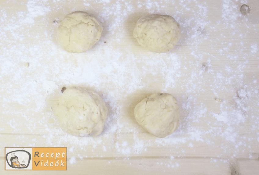 Mimóza szelet recept, mimóza szelet elkészítése 2. lépés
