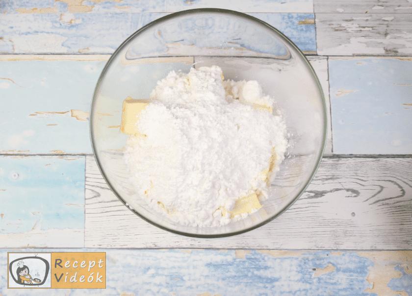 Mimóza szelet recept, mimóza szelet elkészítése 5. lépés