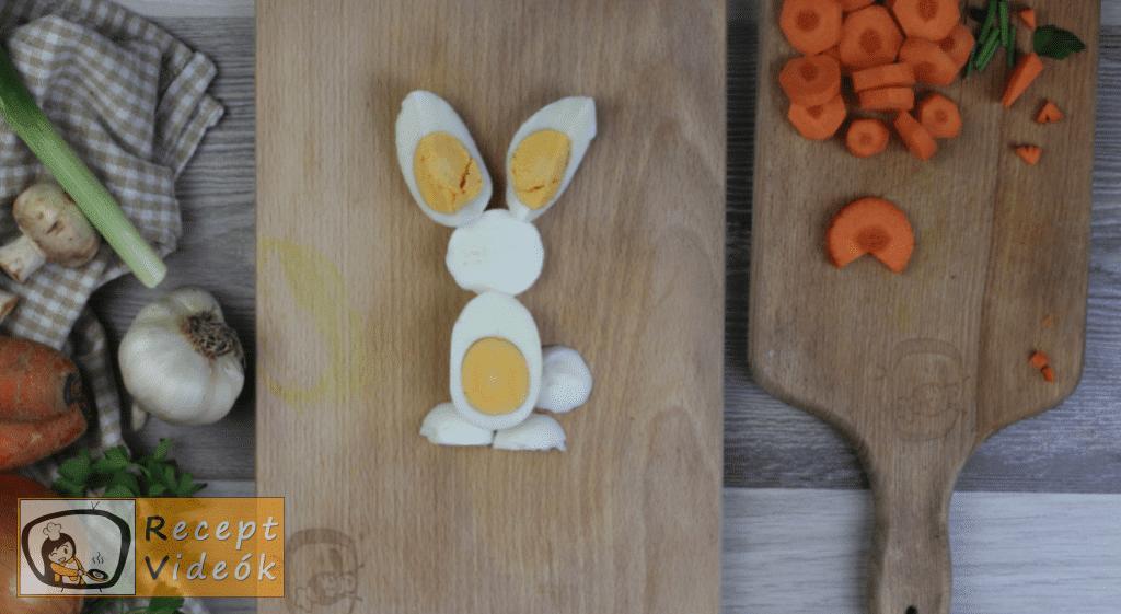 Húsvéti diy kreatív recept ötletek, asztaldíszek - húsvéti kreatív reggeli 8. lépés