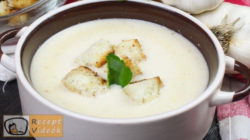 Sajtkrémleves recept, sajtkrémleves elkészítése - Recept Videók