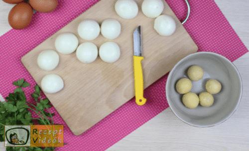 Tojásos-sonkás sajttekercs recept elkészítése 3. lépés