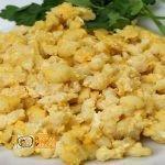 Tojásos nokedli recept, tojásos nokedli elkészítése - Recept Videók