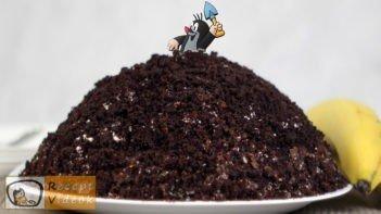Vakondtúrás torta recept, vakondtúrás torta elkészítése - Recept Videók