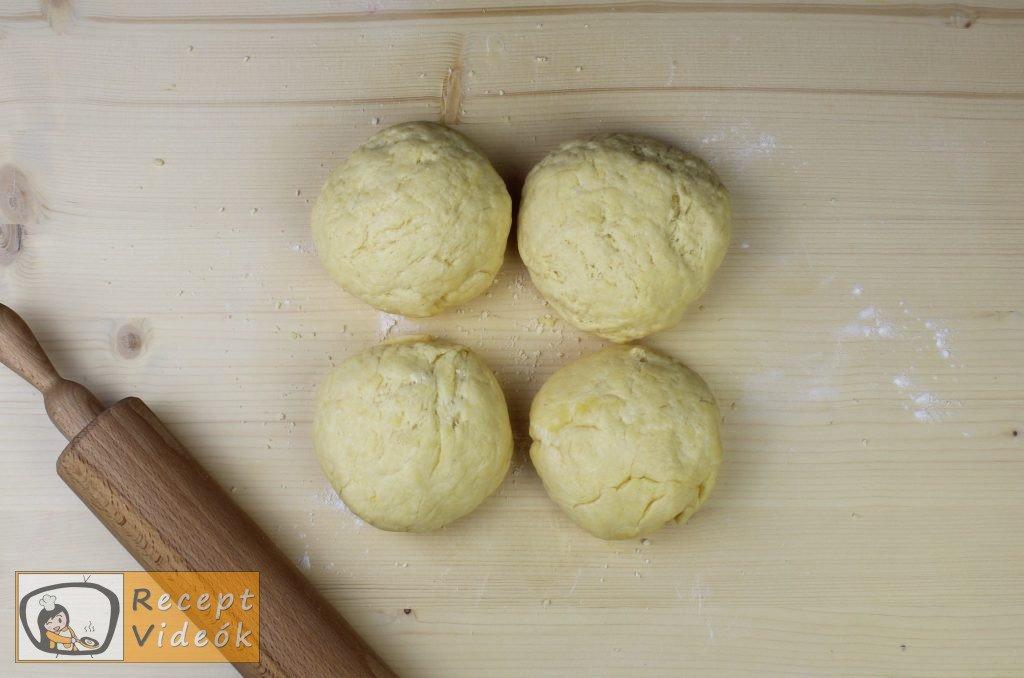 Sajtos croissant recept, sajtos croissant elkészítése 3. lépés