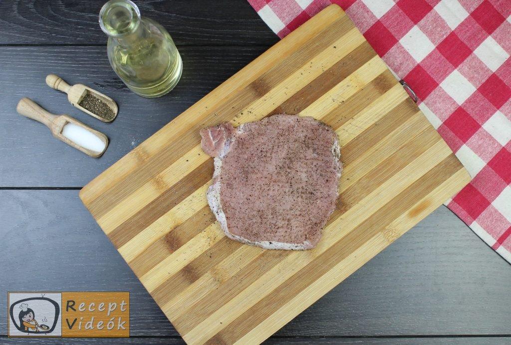 Holstein szelet recept, Holstein szelet elkészítése 2. lépés