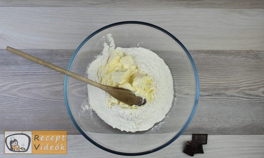 Vaníliás karika recept, vaníliás karika elkészítése 1. lépés