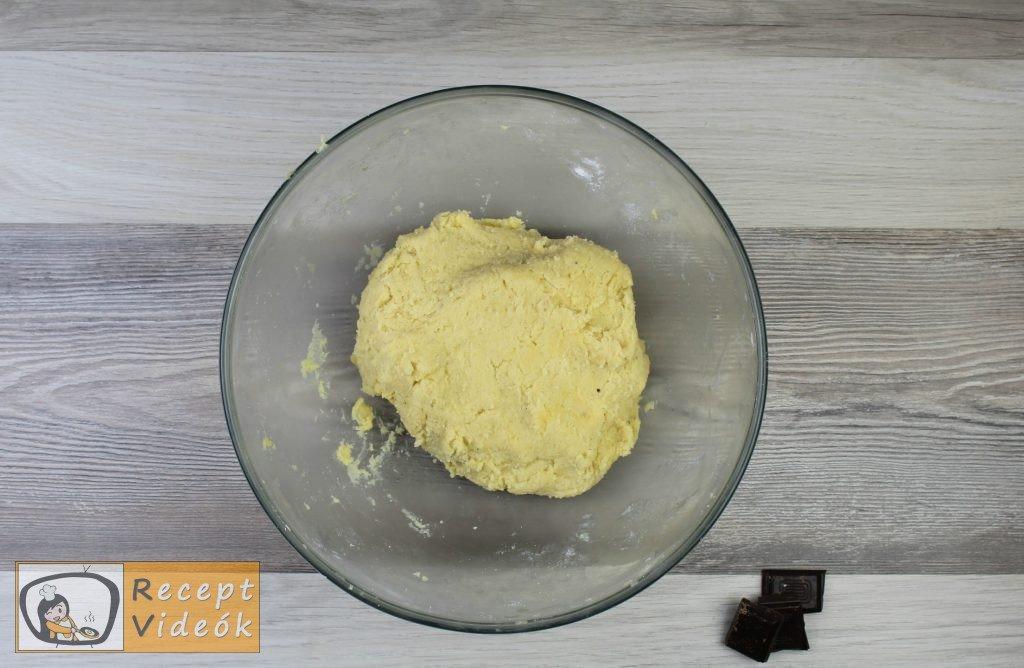Vaníliás karika recept, vaníliás karika elkészítése 2. lépés