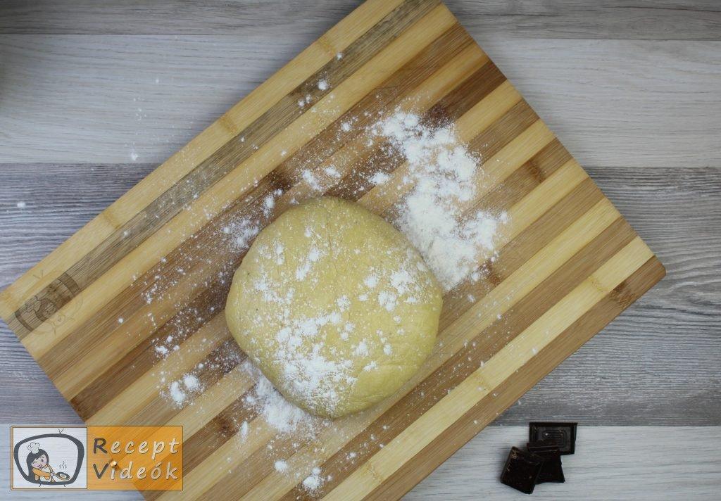 Vaníliás karika recept, vaníliás karika elkészítése 4. lépés