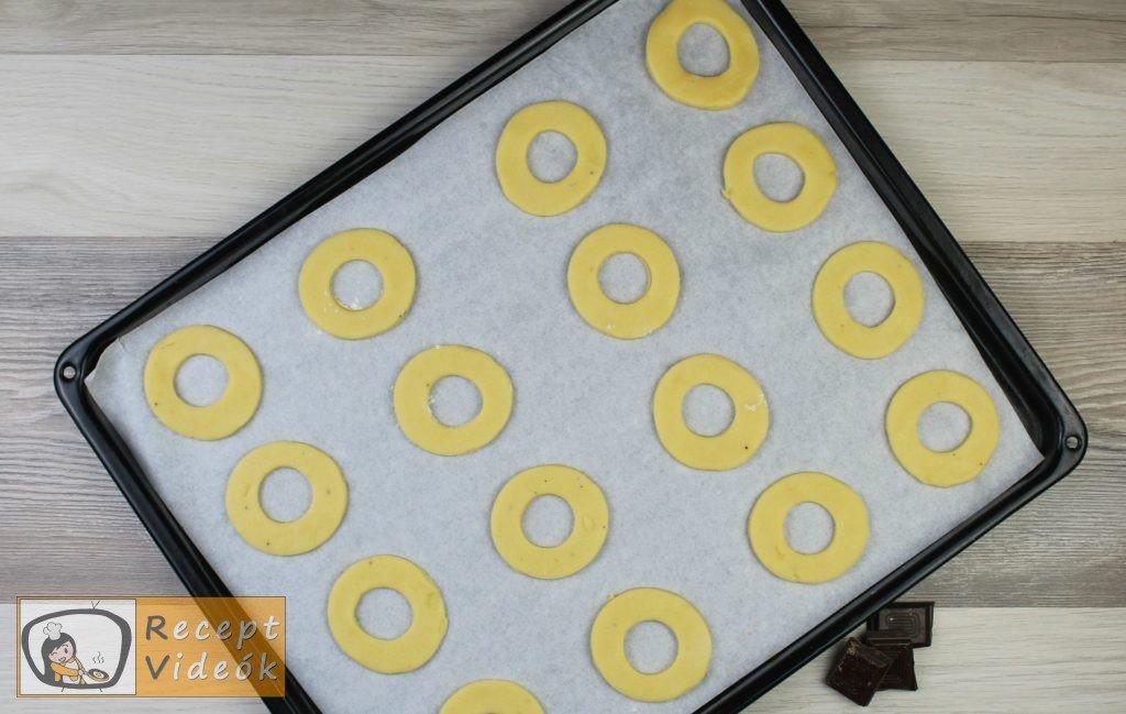 Vaníliás karika recept, vaníliás karika elkészítése 7. lépés