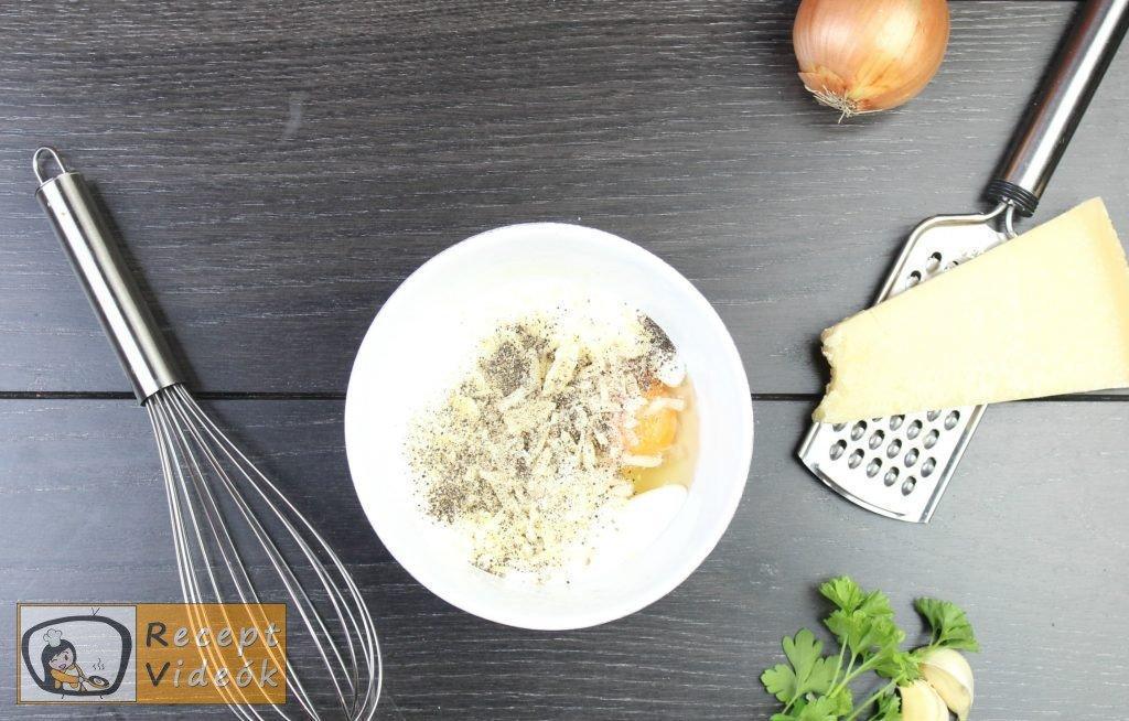 Carbonara spagetti recept, carbonara spagetti elkészítése 4. lépés