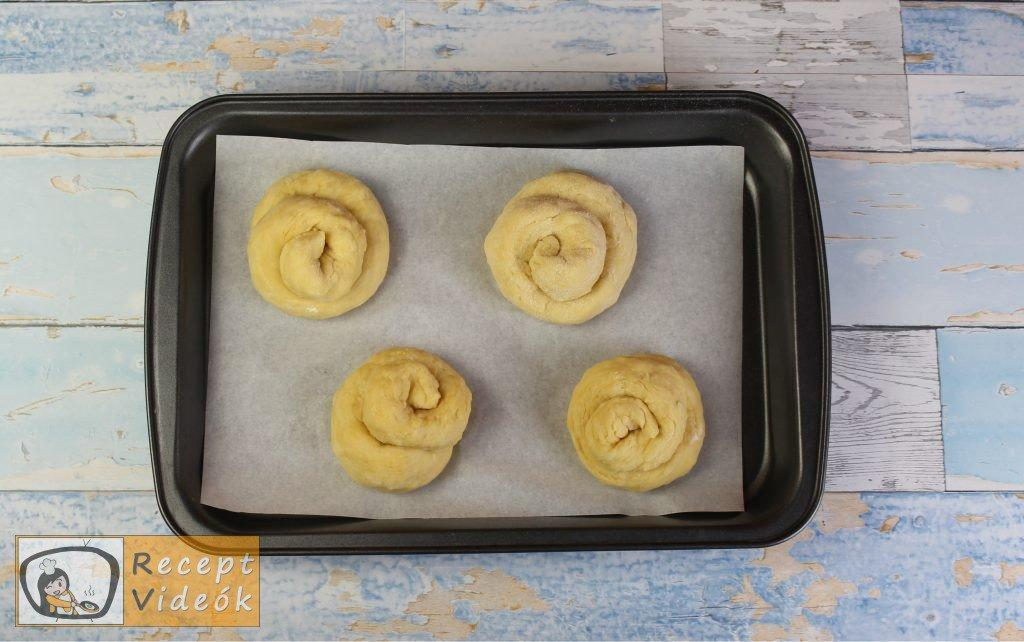 Fahéjas-cukros briós recept elkészítése 3. lépés