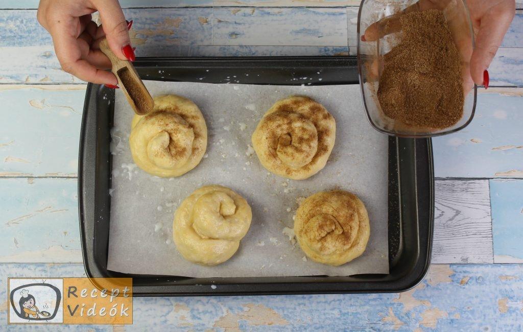 Fahéjas-cukros briós recept elkészítése 5. lépés
