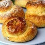 Fahéjas-cukros briós recept elkészítése - Recept Videók
