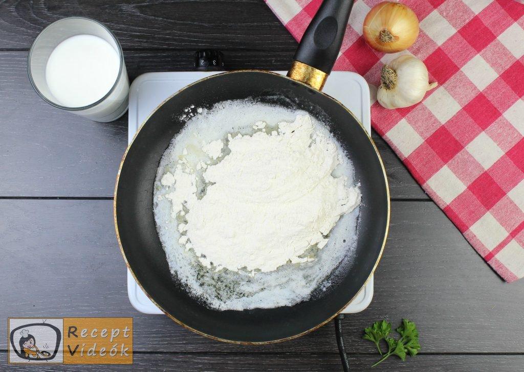 Lasagne recept, lasagne elkészítése 4. lépés