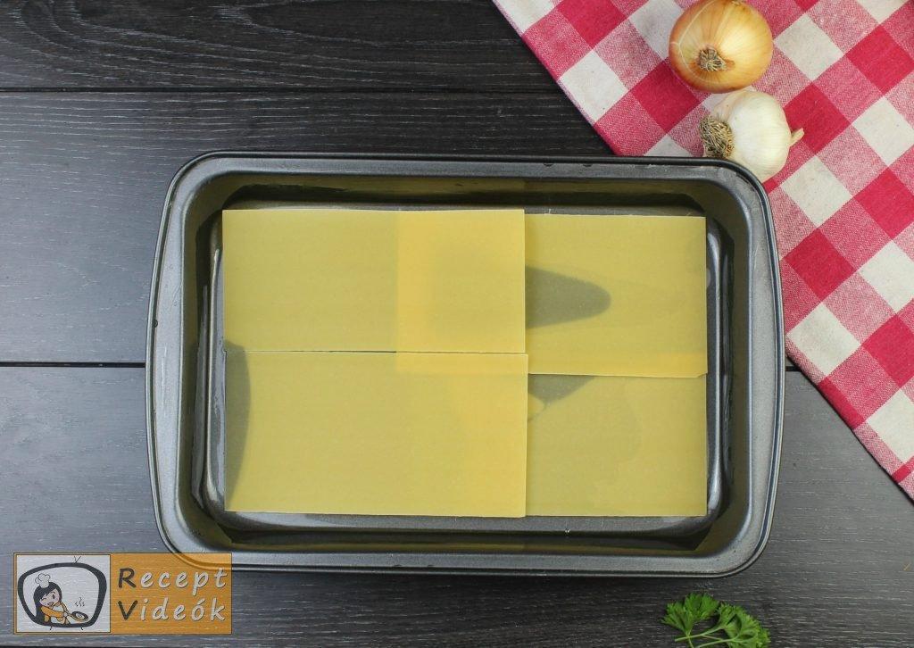 Lasagne recept, lasagne elkészítése 6. lépés