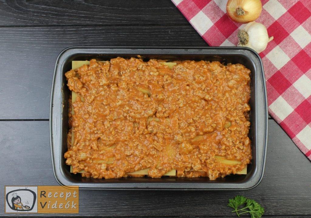 Lasagne recept, lasagne elkészítése 7. lépés