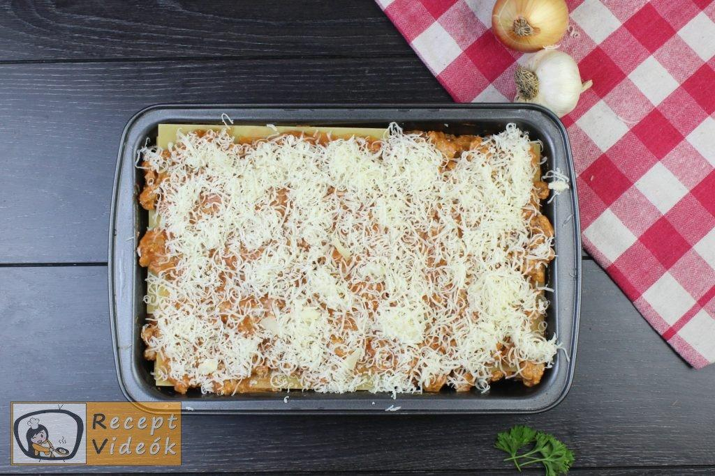Lasagne recept, lasagne elkészítése 8. lépés