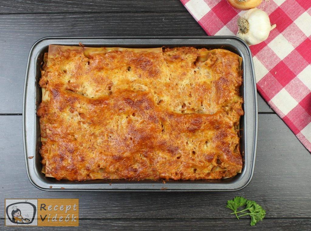 Lasagne recept, lasagne elkészítése 9. lépés