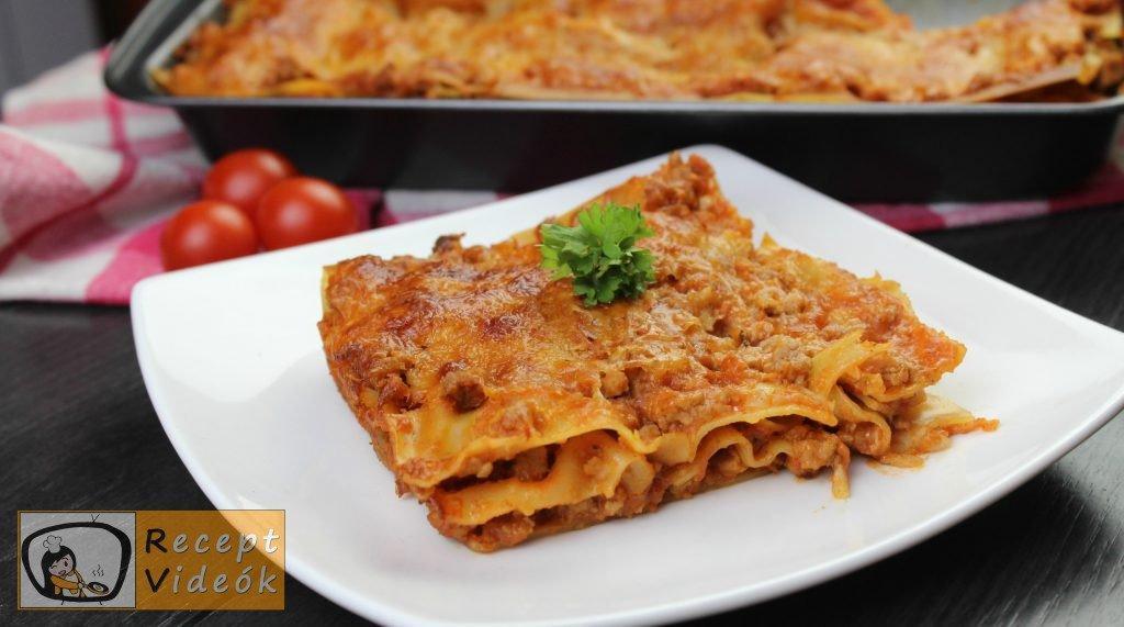 Lasagne recept, lasagne elkészítése - Recept Videók