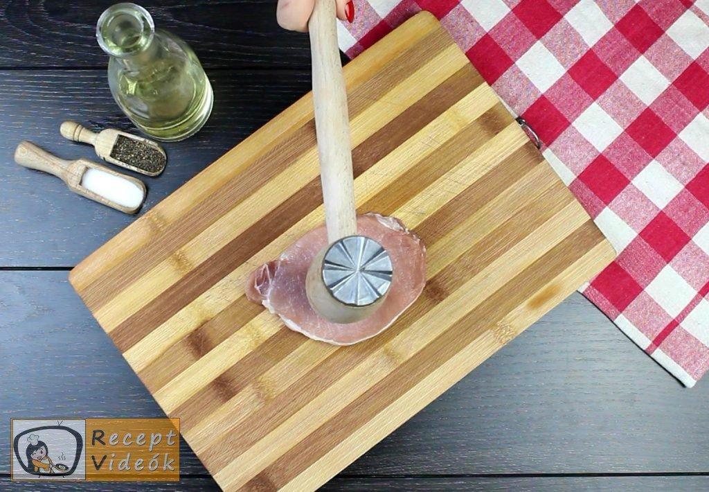 Holstein szelet recept, Holstein szelet elkészítése 1. lépés
