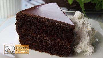 sacher torta recept, sacher torta elkészítése - Recept Videók