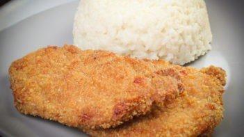 sütőben sült rántott hús recept elkészítése - Recept Videók