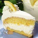 mascarponés citromtorta recept elkészítése - Recept Videók