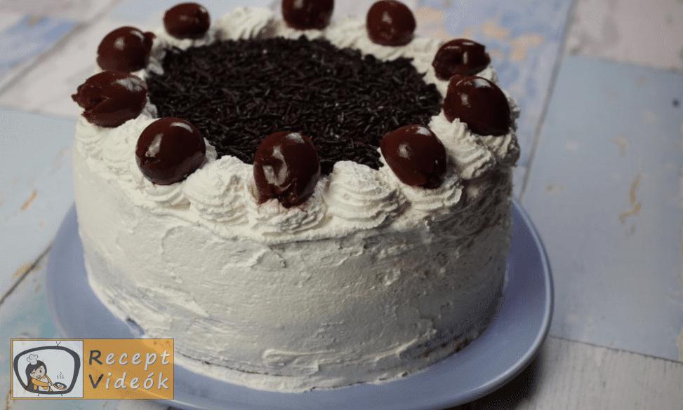 feketeerdő torta recept, feketeerdő torta elkészítése 13. lépés
